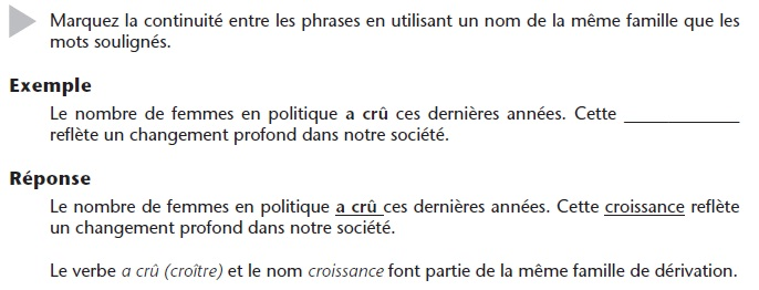 French_Vocabulary_Exercise_1